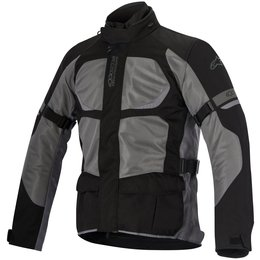 Alpinestars Mens Santa Fe Air Drystar Lined Armored Textile Jacket Black
