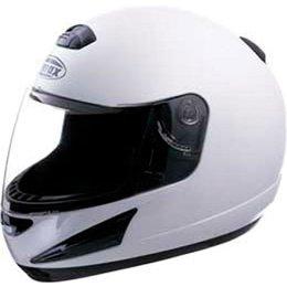 White Gmax Gm38 Full Face Helmet