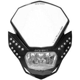 Black Acerbis Headlight Led Vision Hp