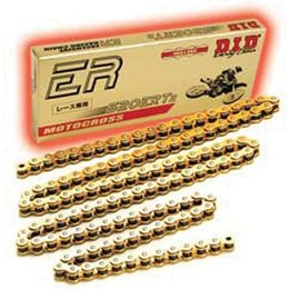 DID Chain 520 ERT2 ER Series Racing Chain 120 Links Gold Universal