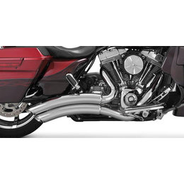 Vance & Hines Super Radius 2 Into 2 Dual Exhaust For Harley Touring 26063