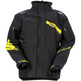 Arctiva Mens Vibe Shell Snowmobile Jacket Black