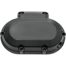 HardDrive Smooth 6-Speed Transmission Side Cover For Harley Black 302227 Black