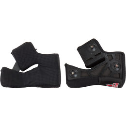 Bell Powersports Pro Star/Race Star Virus Magnefusion Cheek Pads Pair Black