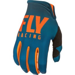 Fly Racing Mens Lite Hydrogen Gloves Orange