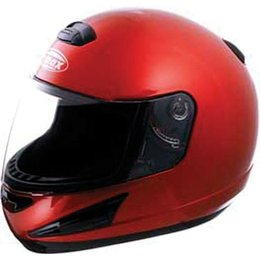 Candy Red Gmax Gm38 Full Face Helmet