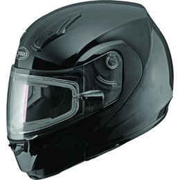 GMAX 04 Modular Electric Snowmobile Helmet Black