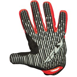 Black, Red Fly Racing Mens Title Short Gloves 2014 Black Red