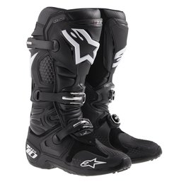 Black Alpinestars Mens Tech 10 Boots 2014 Us 7