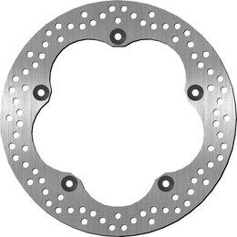 BikeMaster Rear Brake Rotor Billet Aluminum For Honda 1329 Unpainted