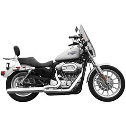 Chrome Rush Exhaust 2:1 Full System 2.5 Tip Compatible For Harley 07-10