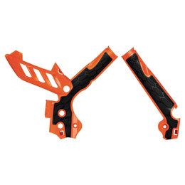 Acerbis X-Grip Frame Guard For KTM SX/SXF EXC Orange/Black 2374251008