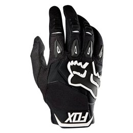Fox Racing Mens Pawtector Race Gloves Black