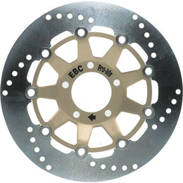EBC Contour Rear Brake Rotor For Yamaha Stainless Steel 2100C