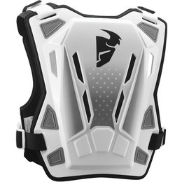 Thor Youth Guardian MX Roost Guard Chest Protector White