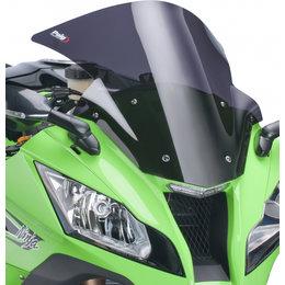 Puig Racing Windscreen Dark Smoke For Kawasaki ZX-10R ZX10R 2011