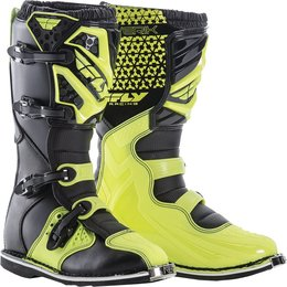 Fly Racing Mens Maverik MX Boots Green