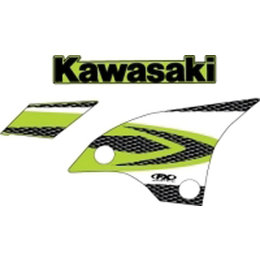 N/a Factory Effex Graphic Kit Replacement 08 Style For Kawasaki Kx250f