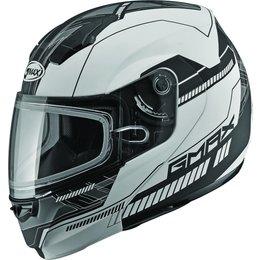 GMAX 04 Modular Snowmobile Helmet White