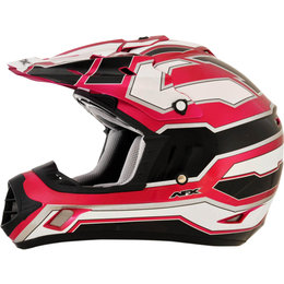 AFX Womens FX-17 FX17 Works MX Motocross Helmet Pink