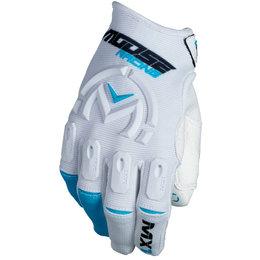 Moose Racing Mens MX1 MX Gloves White