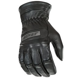 Black Joe Rocket Mens Classic Thick Fit Leather Gloves 2014