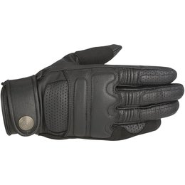 Alpinestars Mens Oscar Collection Robinson Leather Gloves Black