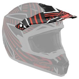 Black, Red Msr Replacement Visor For 2012 Assault Helmet Black Red