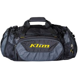 Klim Deluxe Expandable Duffle Bag 24 X 10 X 12 Inches Black