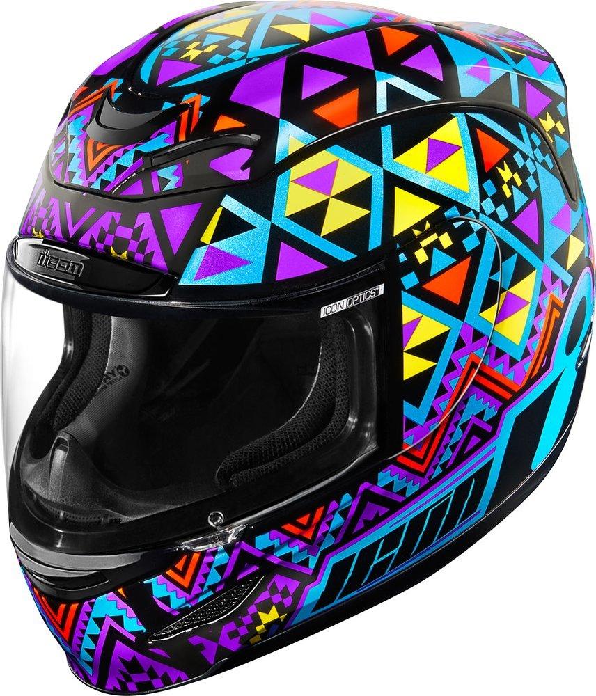 Icon Womens Airmada Georacer Full Face Helmet