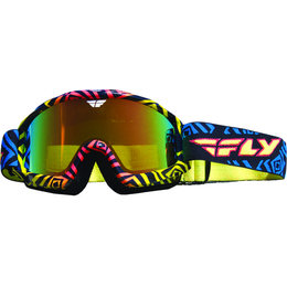 Deviant/fire Mirror, Smoke Fly Racing Zone Snow Goggles 2015 Deviant Fire Mirror Smoke