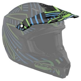 Black, Cyan Msr Replacement Visor For 2012 Assault Helmet Black Cyan