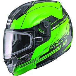 GMAX 04 Modular Snowmobile Helmet Green