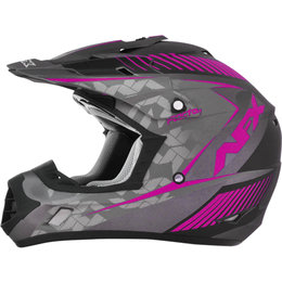 AFX Youth Girls FX-17Y FX17Y Matte Factor MX Motocross Helmet Pink