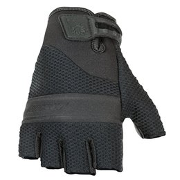 Black Joe Rocket Mens Vento Fingerless Mesh Gloves 2014