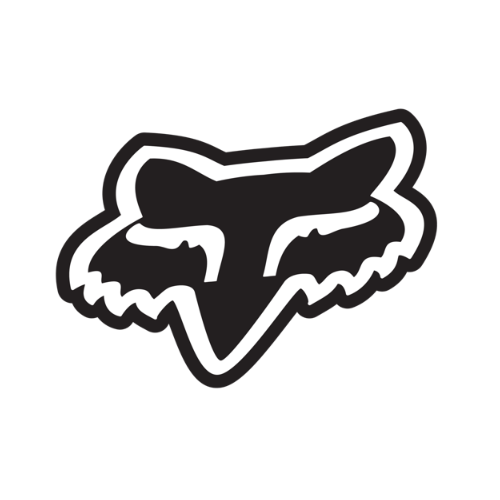 $2.00 Fox Racing Fox Head Sticker Decal 1.75 Inch #140613 - photo#16