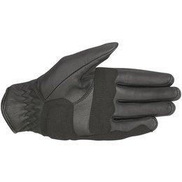 Alpinestars Mens Oscar Collection Robinson Leather Gloves Black