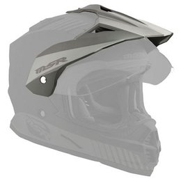 Matte Black Msr Replacement Visor For 2013 Xpedition Dual Sport Helmet