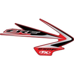 N/a Factory Effex Graphic Kit Replacement 09 Style For Honda Crf450r