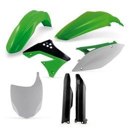 Acerbis Replacement Plastic Kit For Kawasaki KX450F Green White Black 2198060145 Green