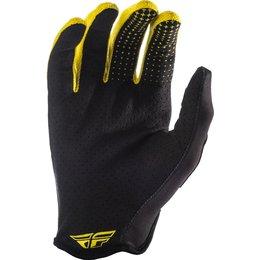 Fly Racing Mens Lite Hydrogen Rockstar Gloves Yellow