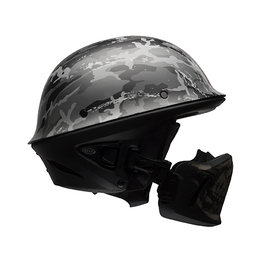 Bell Powersports Rogue Ghost Recon Pure Attitude DOT Approved Half Helmet Black