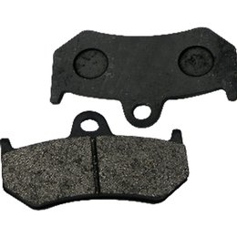 SPI Semi-Metallic Snowmobile Brake Pads DOT Approved Black Pair SM-05013 Black