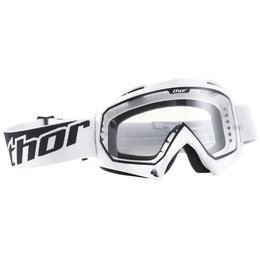 White Thor Enemy Goggles 2008 One Size