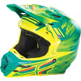 Fly Racing F2 Carbon Andrew Short Replica MIPS Helmet Blue