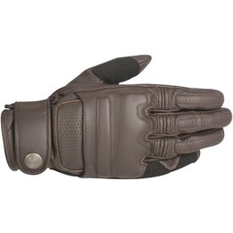 Alpinestars Mens Oscar Collection Robinson Leather Gloves Brown