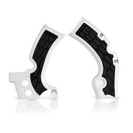 Acerbis X-Grip Frame Guard For Kawasaki KX450F 2012-2015 White/Black 2374271035