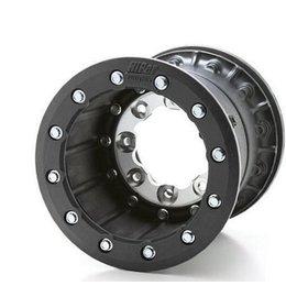 Hiper Wheel Tech 3 Front Single Beadlock 10x5 3+2 Offset 4/144 Bolt Carbon