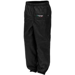 Black Frogg Toggs Womens Pro Action Rain Pants Pa63502-01wmd