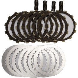 EBC DRC-F Clutch Kit With Carbon Fiber Lined Friction Plates For Honda DRCF259 Unpainted